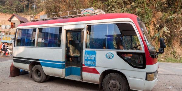 Budget voyage au laos : les bus