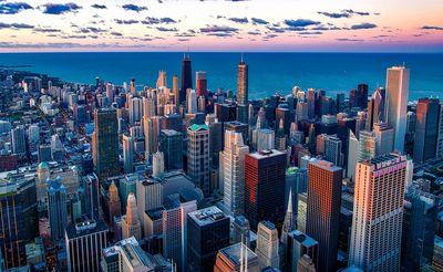 vols au départ de nice vers chicago