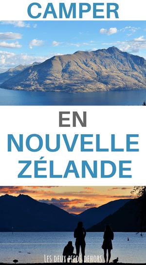 Camping en nouvelle-zélande sur l'île du nord