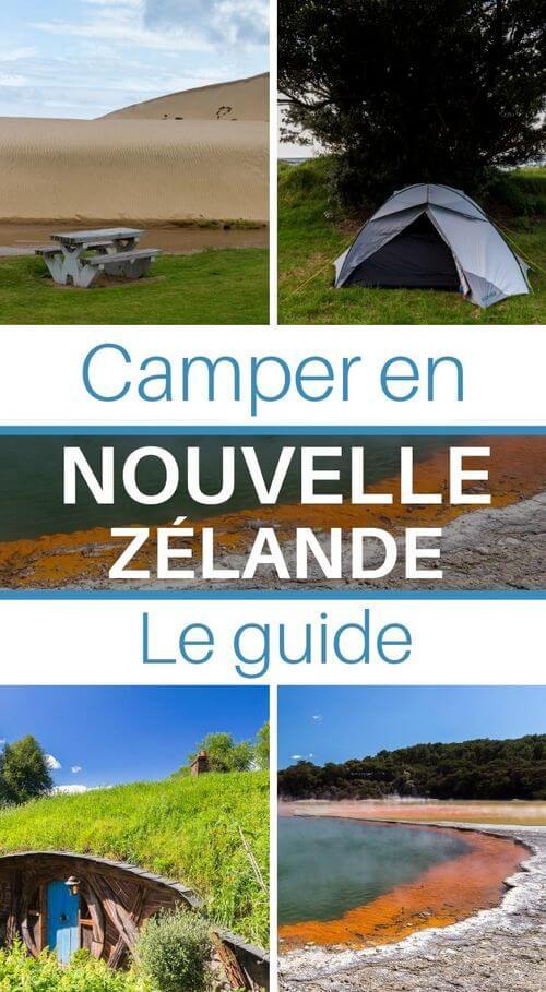 camping en nouvelle zélande