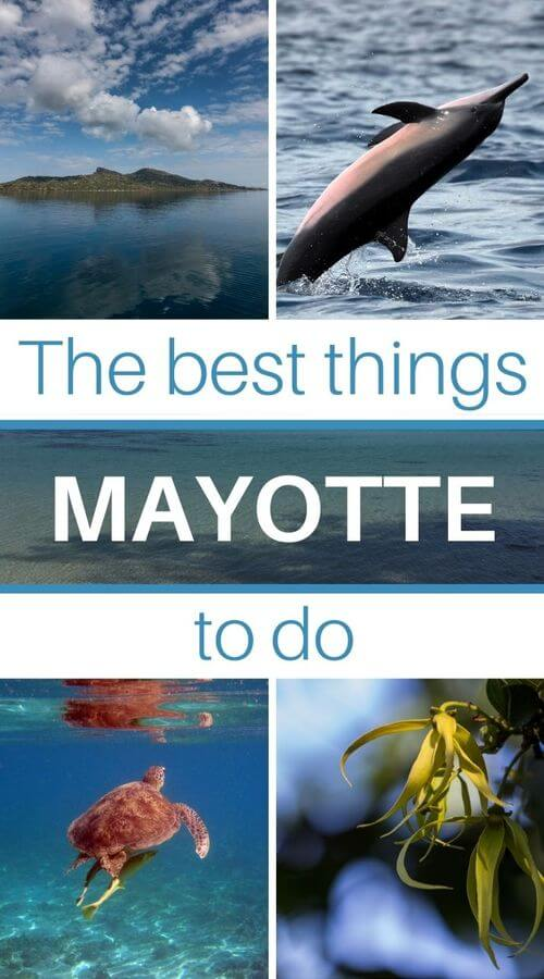 the island of mayote in the indian ocean