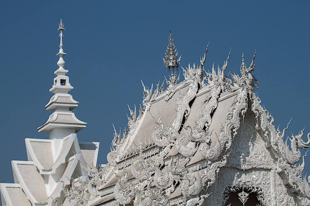 où partir en Thaïlande : le temple blanc de chiang rai