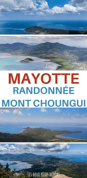 le Mont Choungui à mayotte