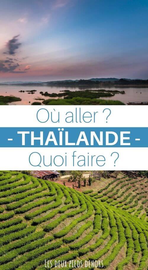 où partir en thailande
