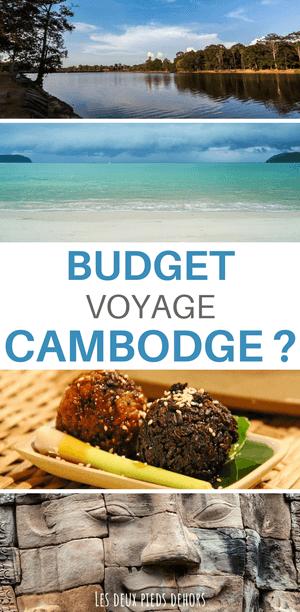 le budget pour un séjour au cambodge