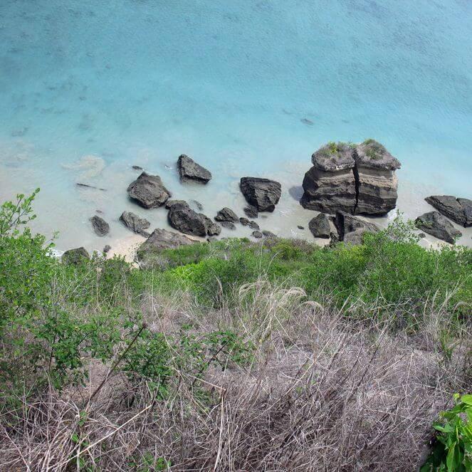 le Lac Dziani à Mayotte