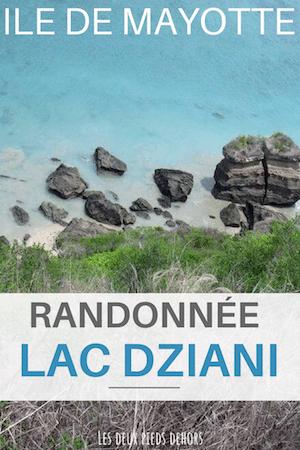 Lac Dziani à Mayotte