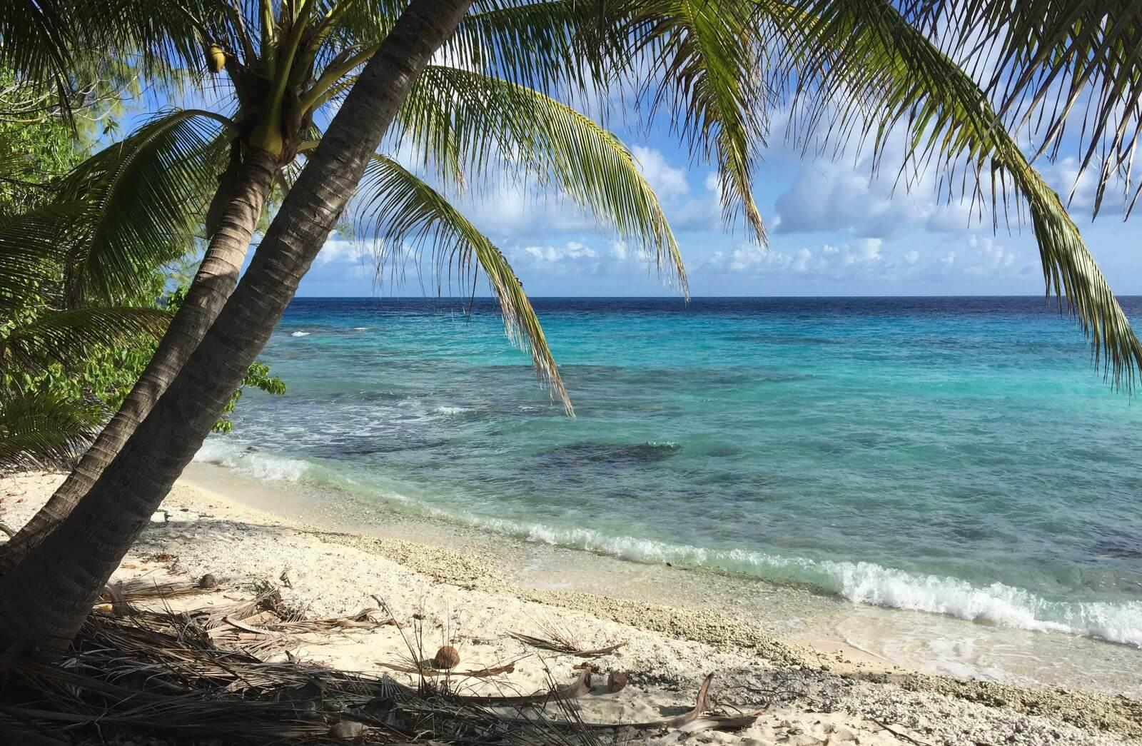 Rangiroa et ses belles plages en polynésie française