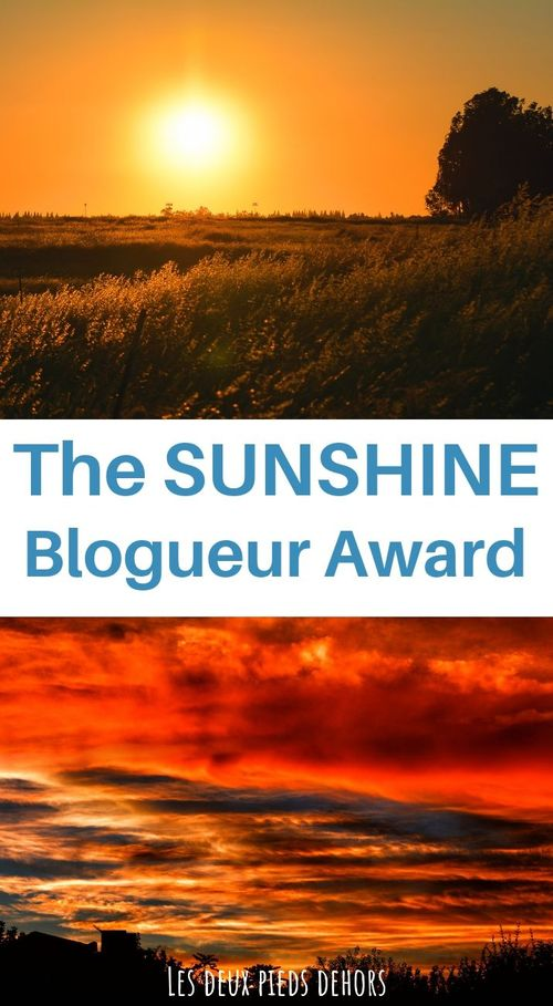 sunshine blogueur award