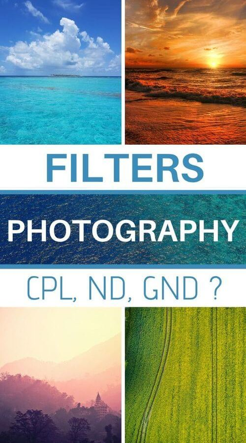 photography filters how to choose