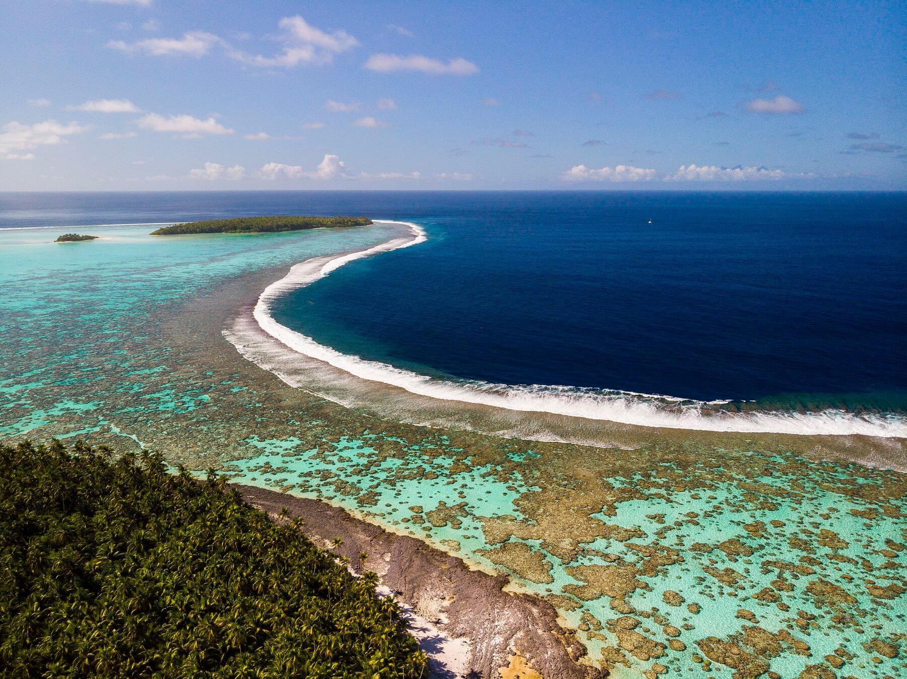 Poe Charter lors de la sortie à Tetiaroa en Polynésie