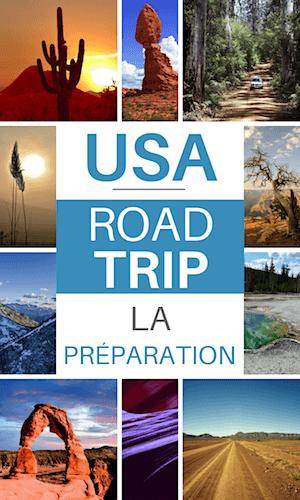 caler son itinéraire pour un road trip aux usa