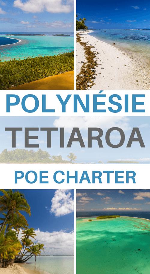 sortie tetiaroa avec poe charter