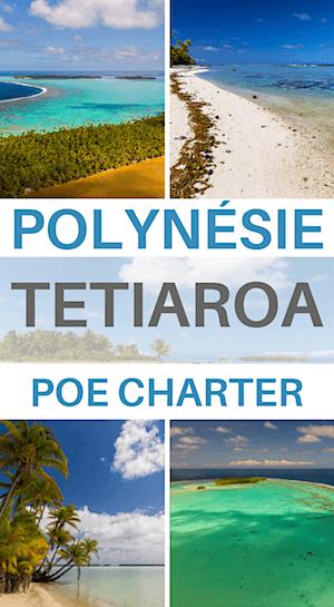 journée catamaran à tetiaroa en polynésie