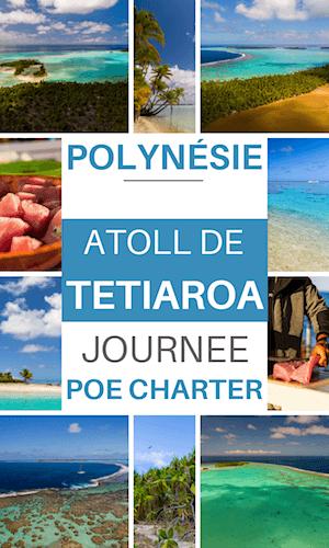 journée sur l'atoll de tetiaroa en polynésie française