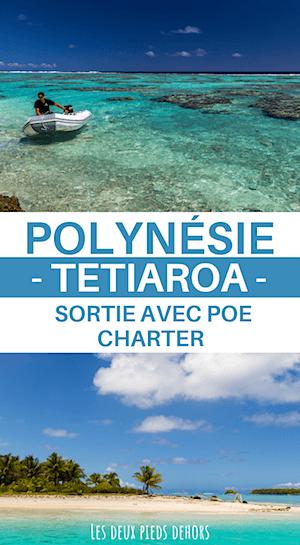 Une journée à Tetiaroa avec Poe charter en Polynésie