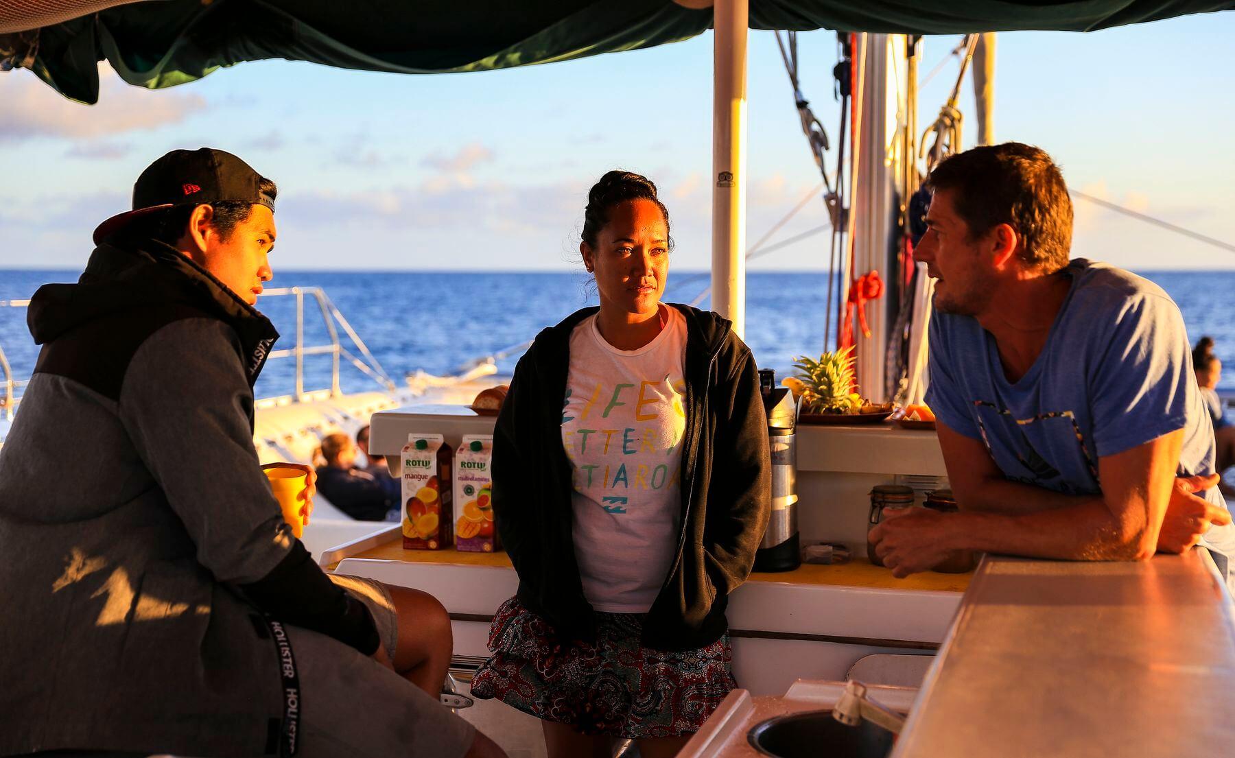 Excursion à Tetiaroa en Polynésie française avec Poe Charter