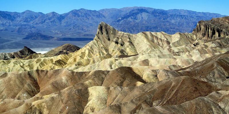 la vallée de la mort, une visite incontournable lors d'un road trip aux USA