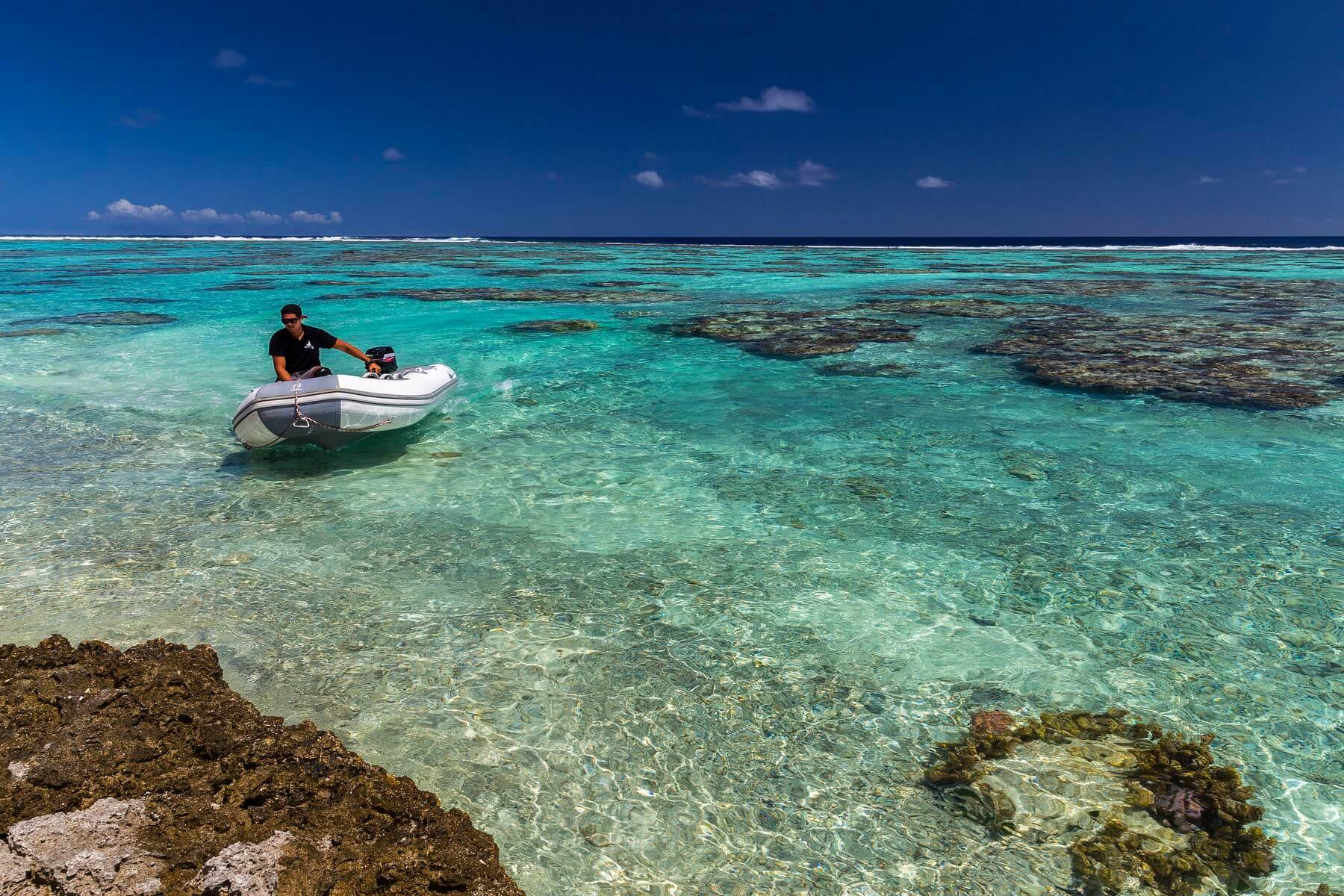 sortie en polynésie avec poe charter