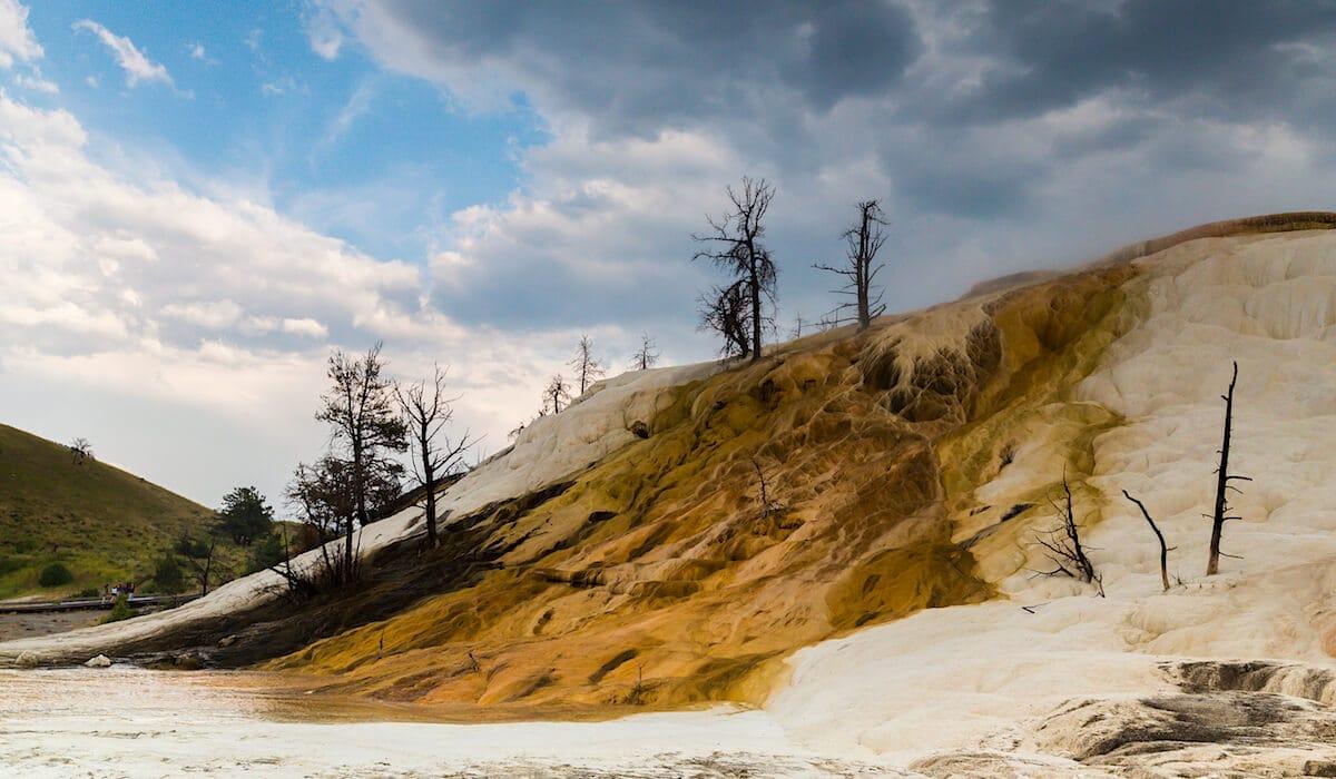 paysage du parc de yellowstone
