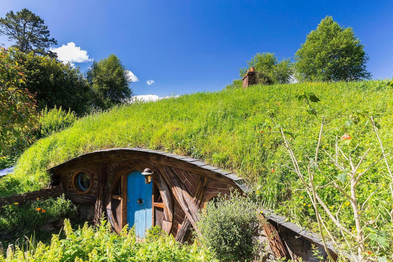 visiter l'île du nord de la nouvelle-zélande, le site d'hobbiton