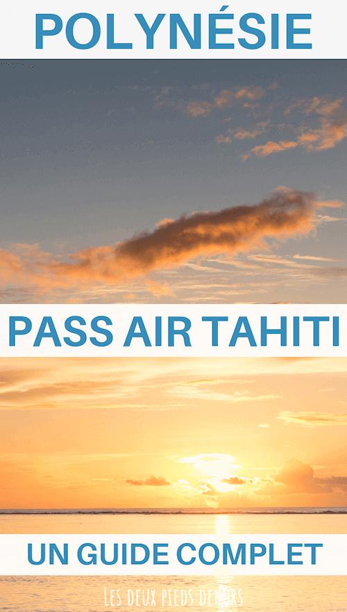 déplacement avec pass air tahiti