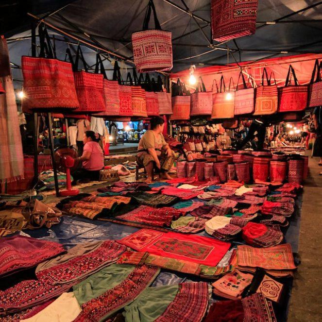 que faire au laos à la ville de luang prabang
