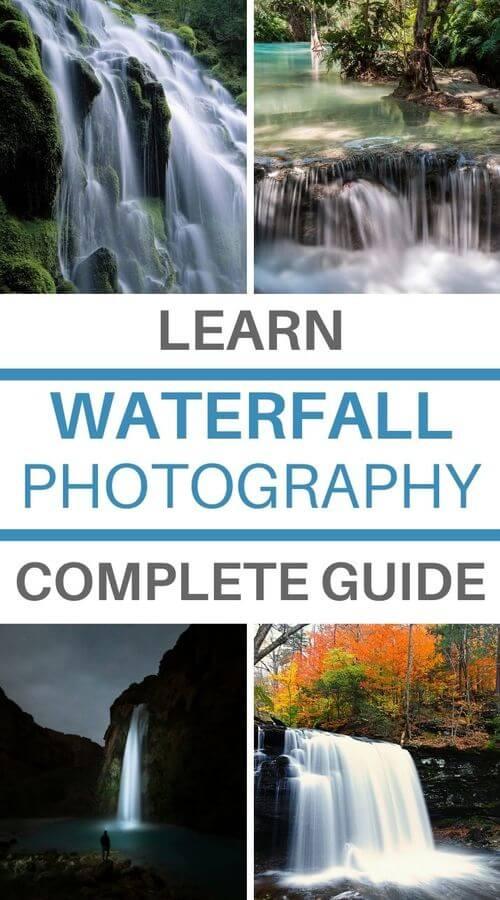 long exposure waterfall photo