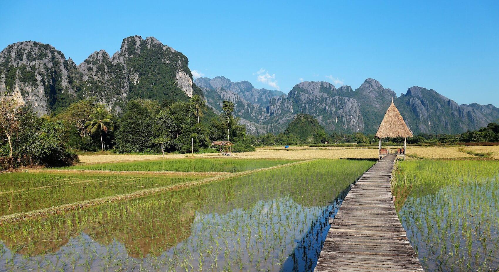 que faire au laos, un passage à Vang Vieng