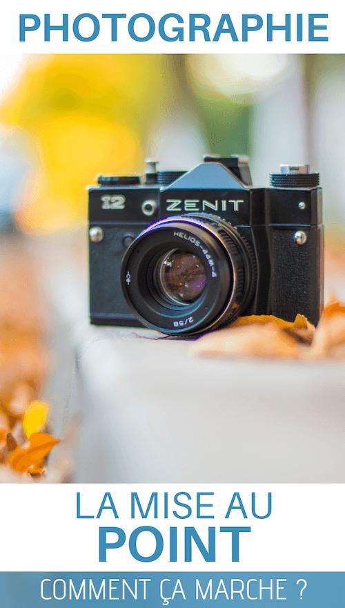 apprendre la mise au point en photo