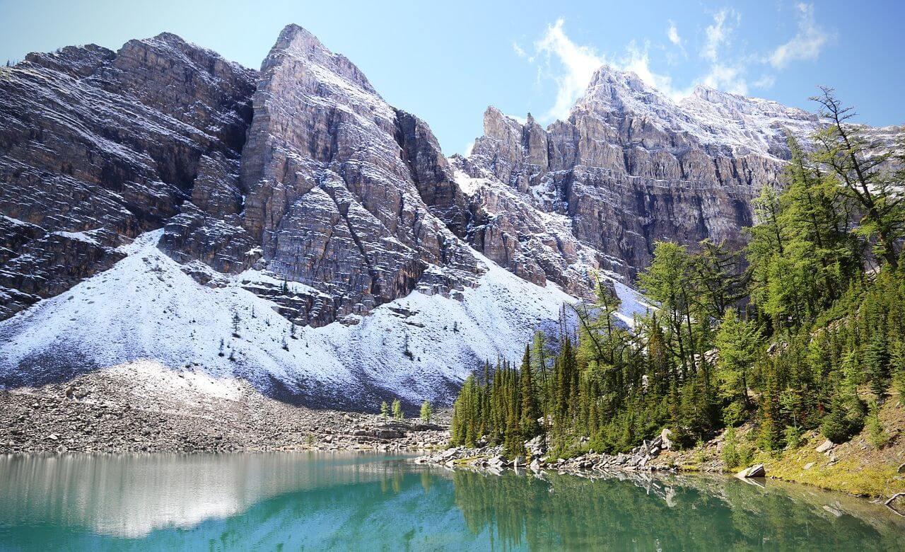 paysage magnifique du parc national de banff