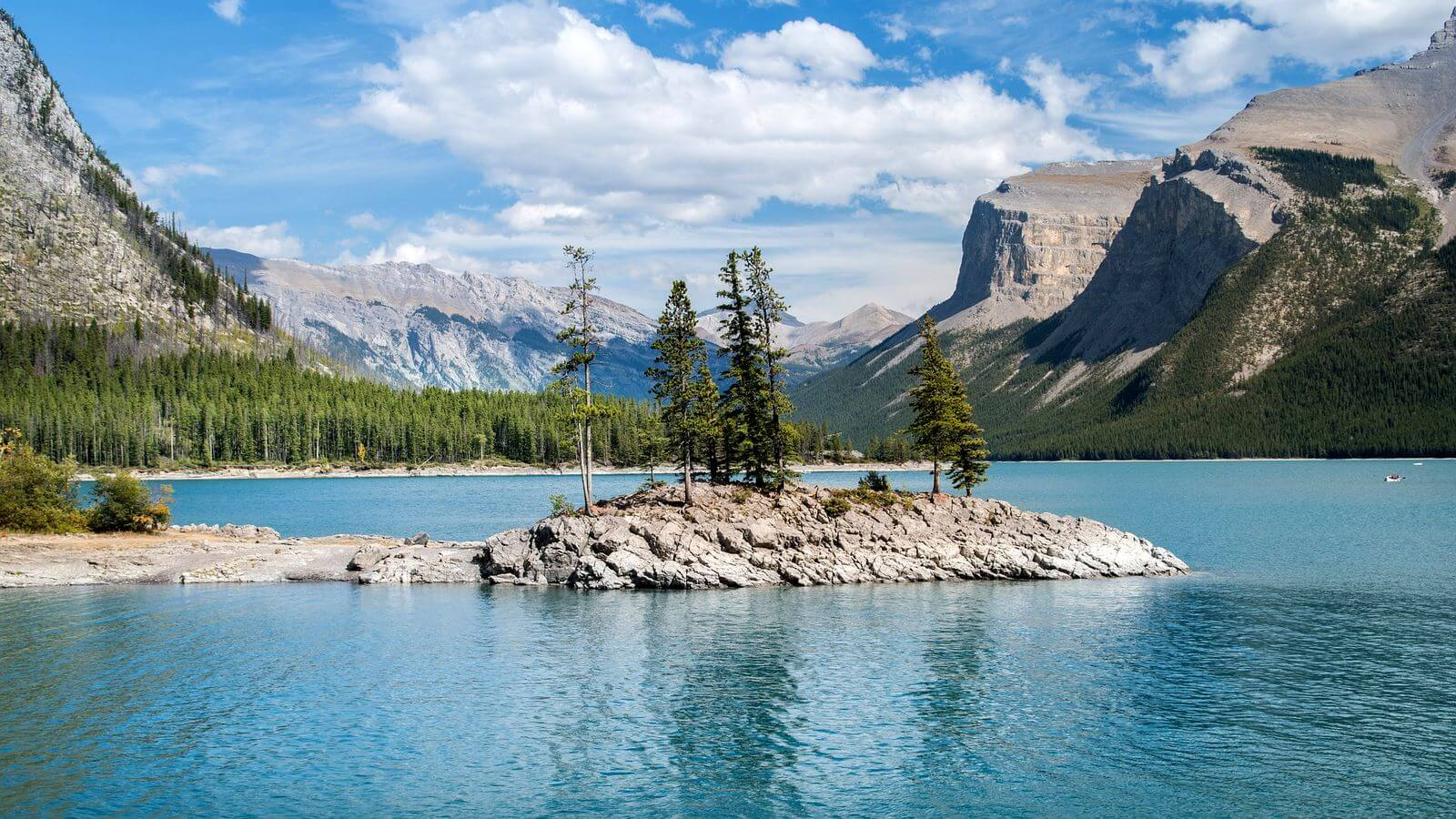 road trip dans le parc national de banff