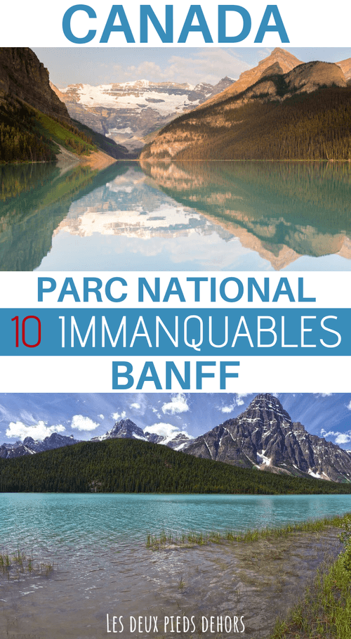 comment visiter le parc national de banff