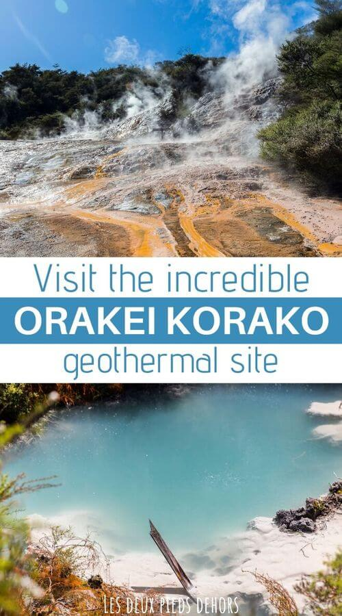 orakei korako geothermal site