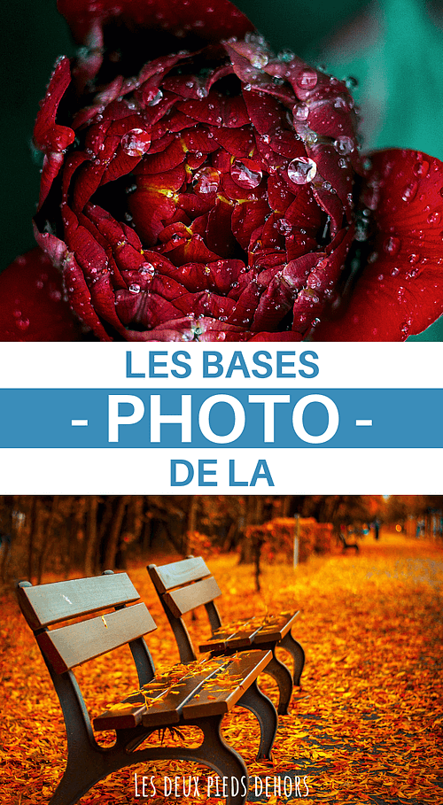apprendre la base de la photo