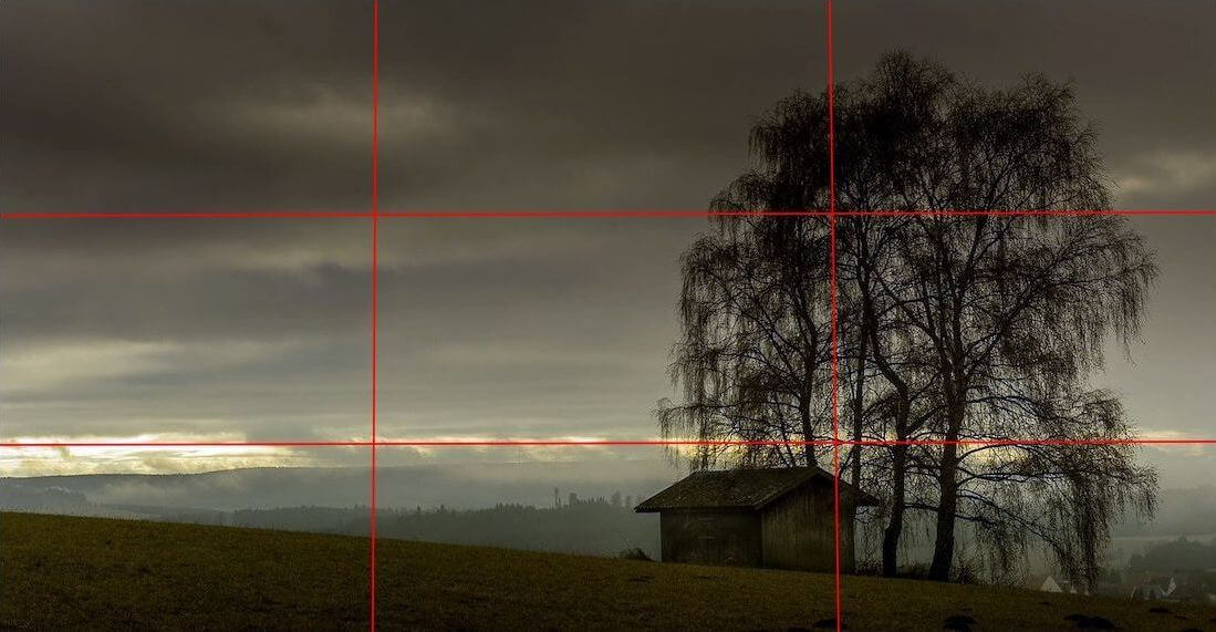 how rule of thirds works