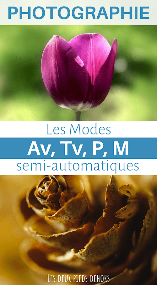 les modes semi-automatiques en photo