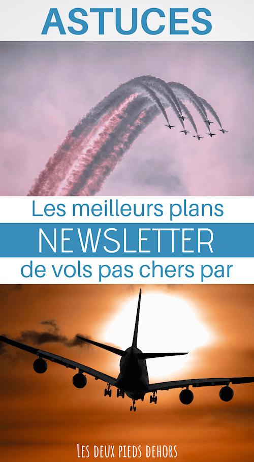 billet d'avion pas chers par email
