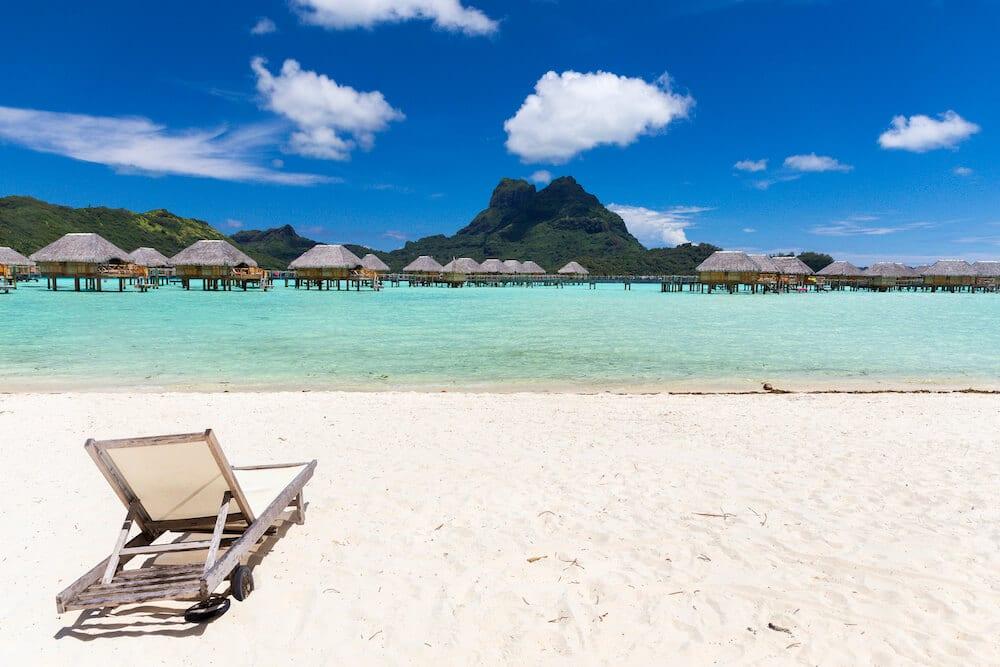 Bora Bora pearl beach hotel de luxe