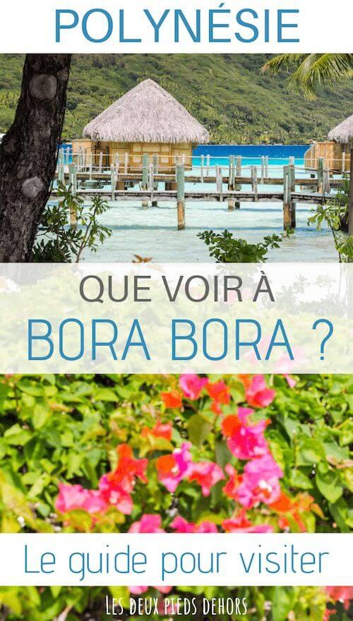 découvrir bora bora en polynésie