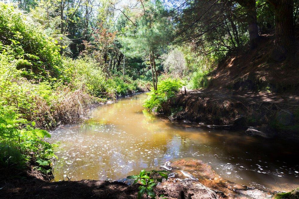 lieu kerosene creek wai o tapu