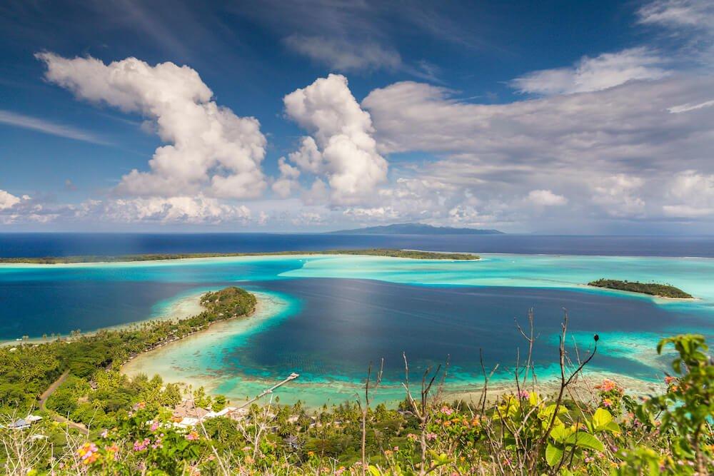 Bora Bora randonnée polynésie