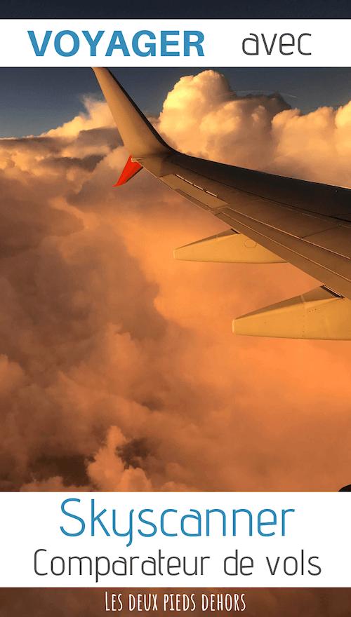 voyager avec skyscanner