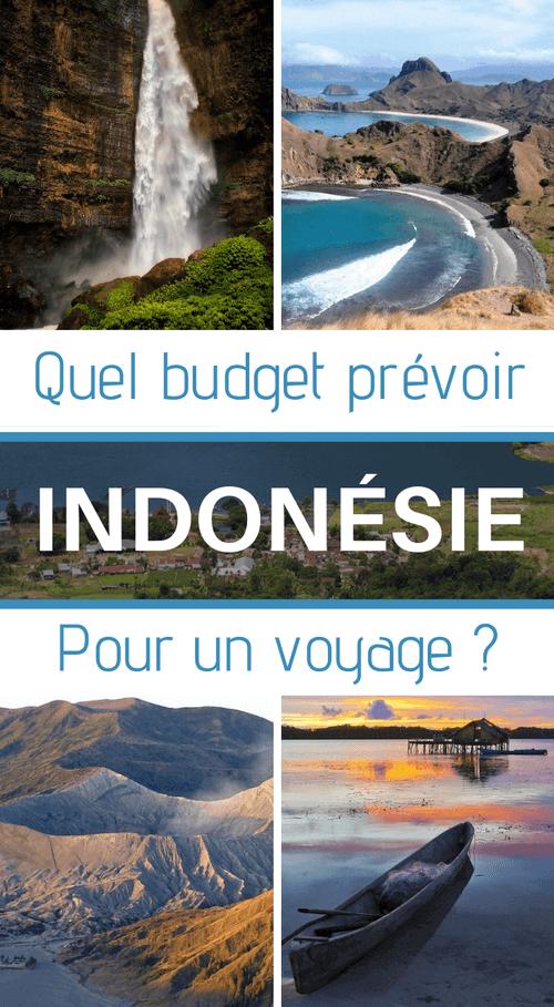 quel budget prévoir pour un voyage en indonésie