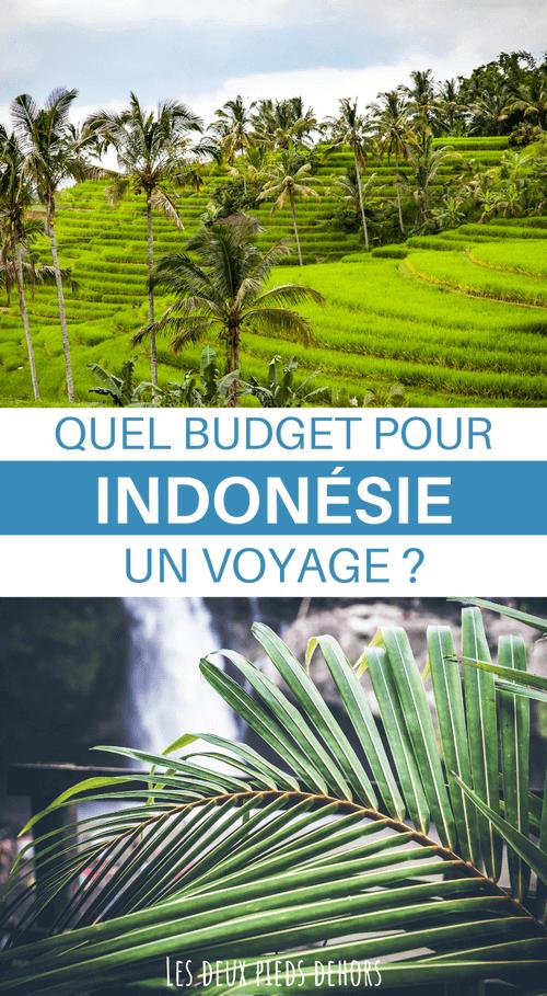 budget vacances indonésie