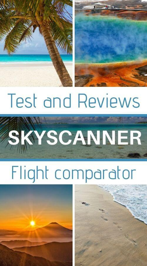 test and review on skyscanner