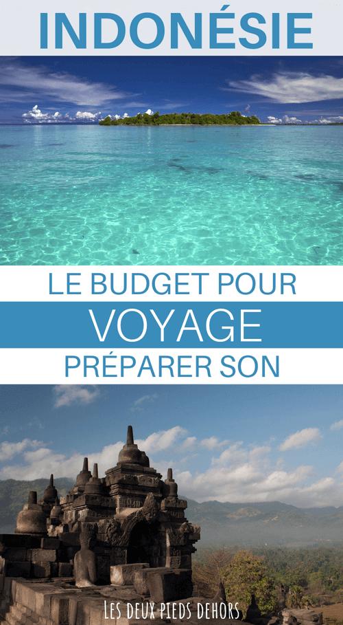 voyage en indonésie quel budget