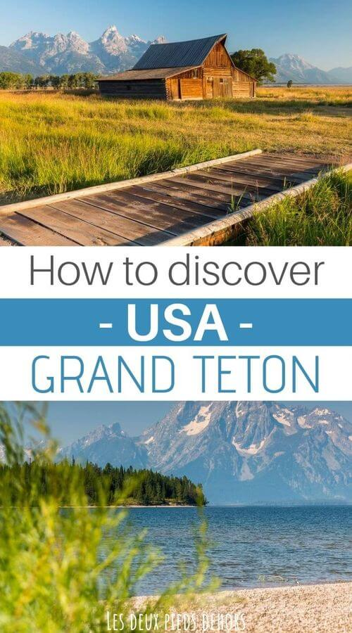 grand teton national park in the usa