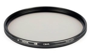 polarisant filter and adapter ring in photography
