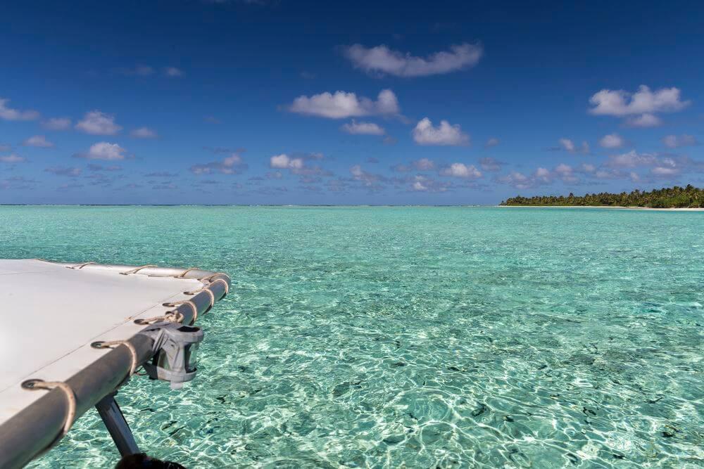 sortie bateau à Bora bora ou Maupiti